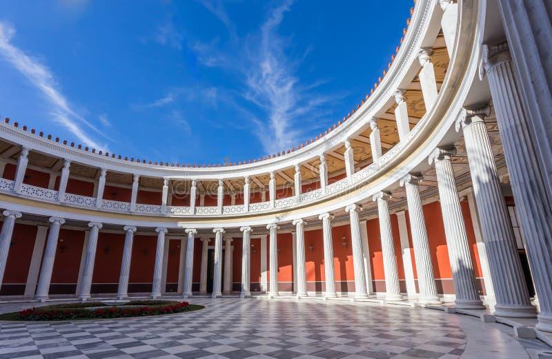 Двор megaro Zappeion внутренний, Афины стоковые фото