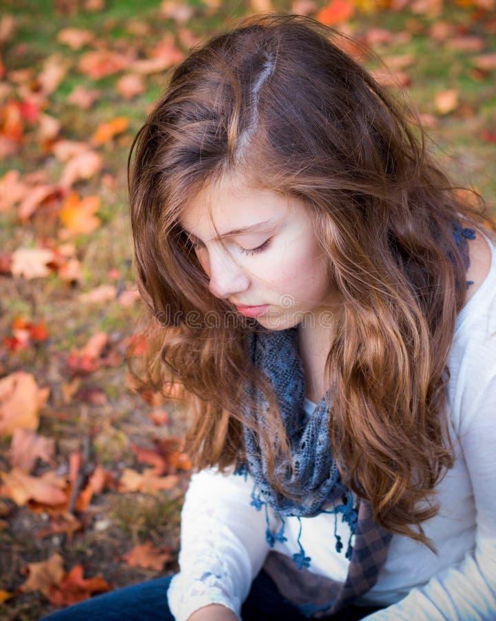 Девочка-подросток стоковое фото rf
