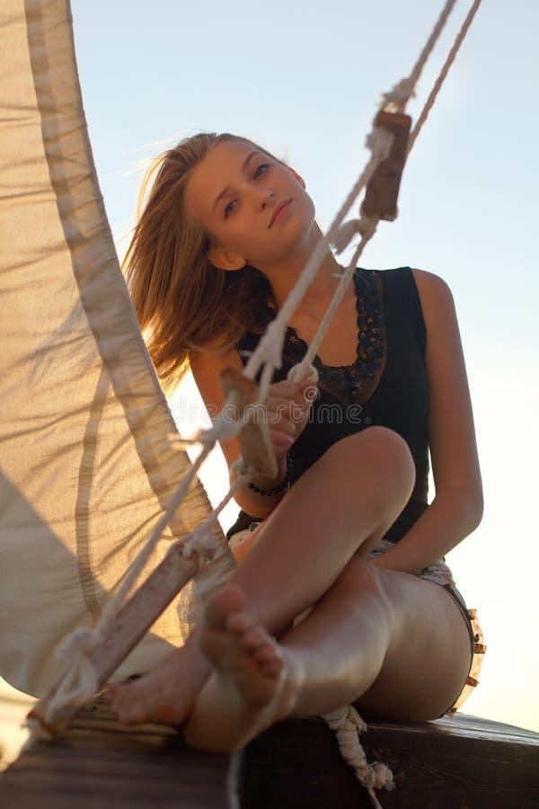 Девочка-подросток стоковые изображения rf