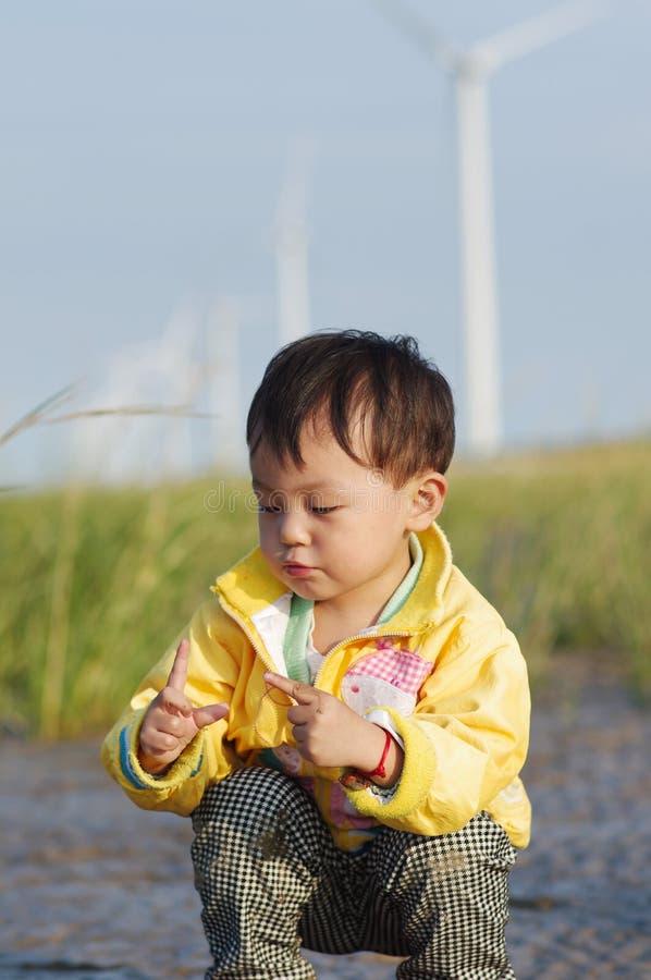 девушка Азии стоковая фотография rf