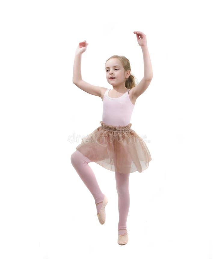 девушка балета немногая studing стоковые фотографии rf