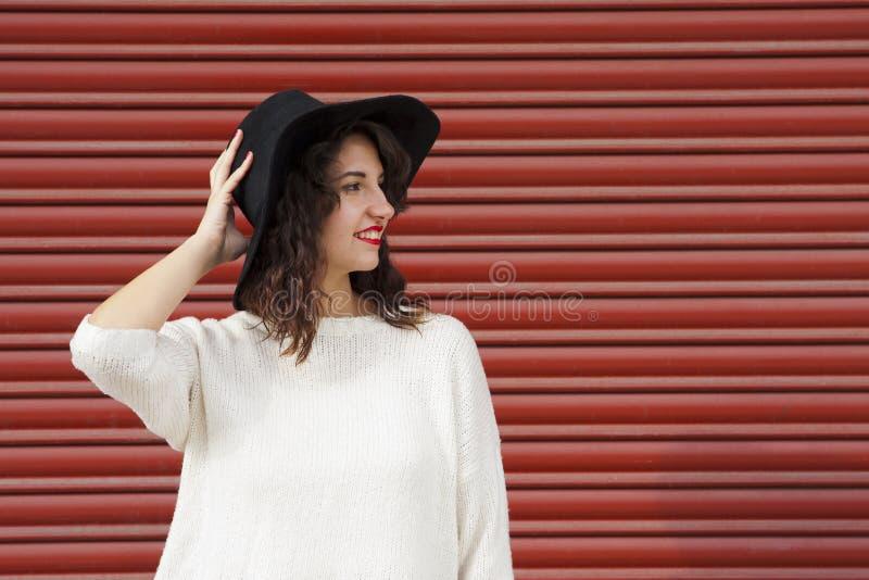 Девушка битника моды стоковые изображения