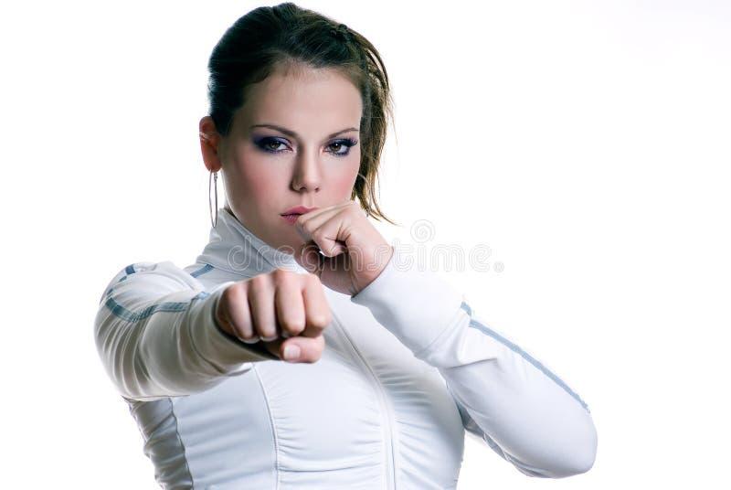 девушка бой стоковые фото