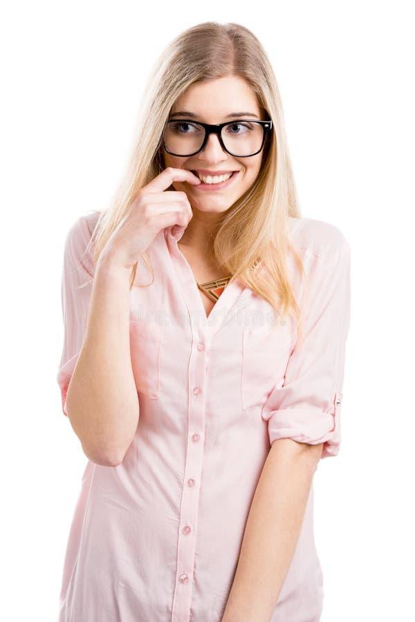Девушка болвана стоковое изображение rf