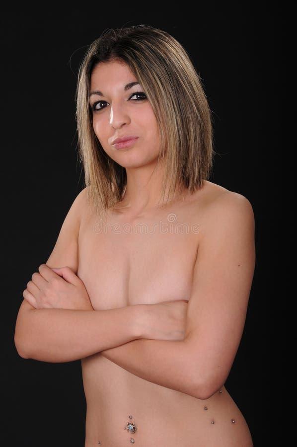 девушка брюнет стоковые фото