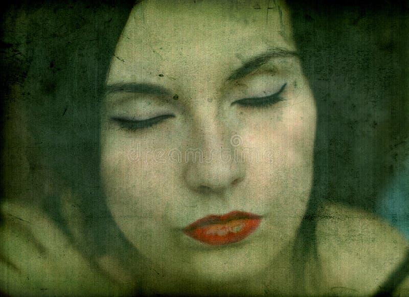 девушка готская стоковые фотографии rf