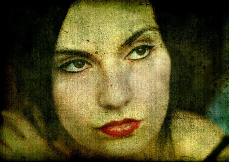 девушка готская стоковые изображения