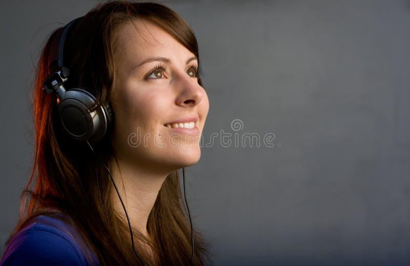 девушка диско диск-жокея стоковые изображения rf