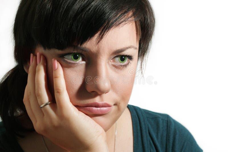 девушка заботливая стоковое изображение rf