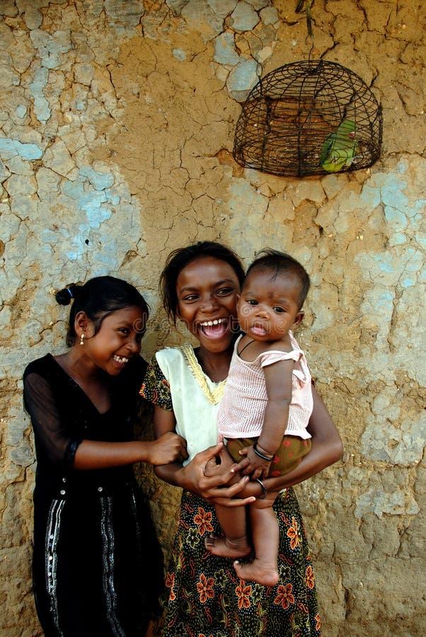 девушка Индия ребенка стоковое изображение