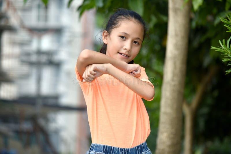 Девушка и доверие подростка стоковая фотография