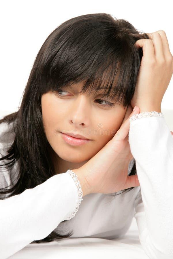 девушка красотки подростковая стоковая фотография rf