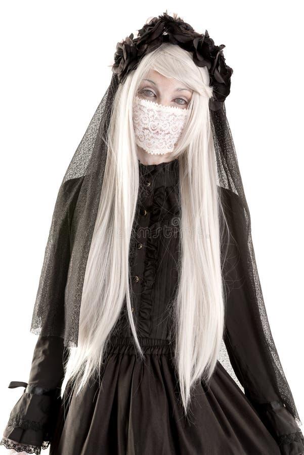 Девушка куклы вдовы стоковые изображения rf