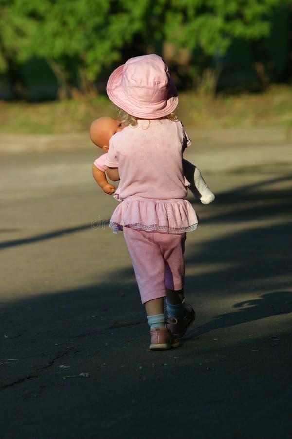 девушка куклы стоковые изображения