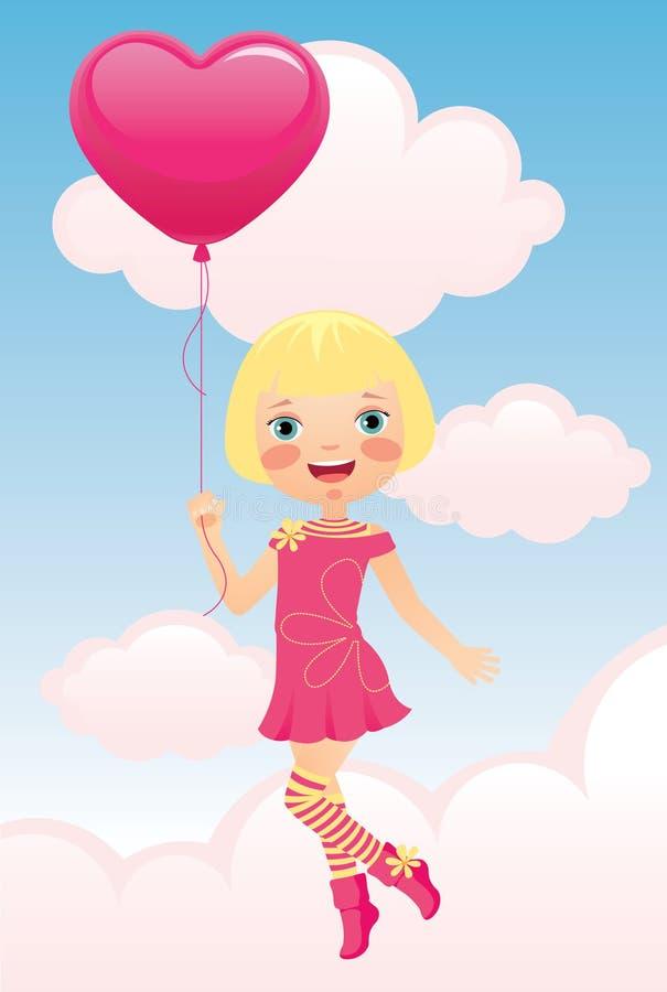 Открытка своими руками девочка держит шарики, открытки для дня