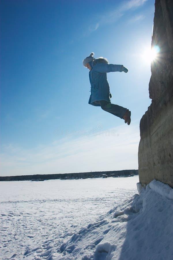 девушка летания стоковые изображения rf