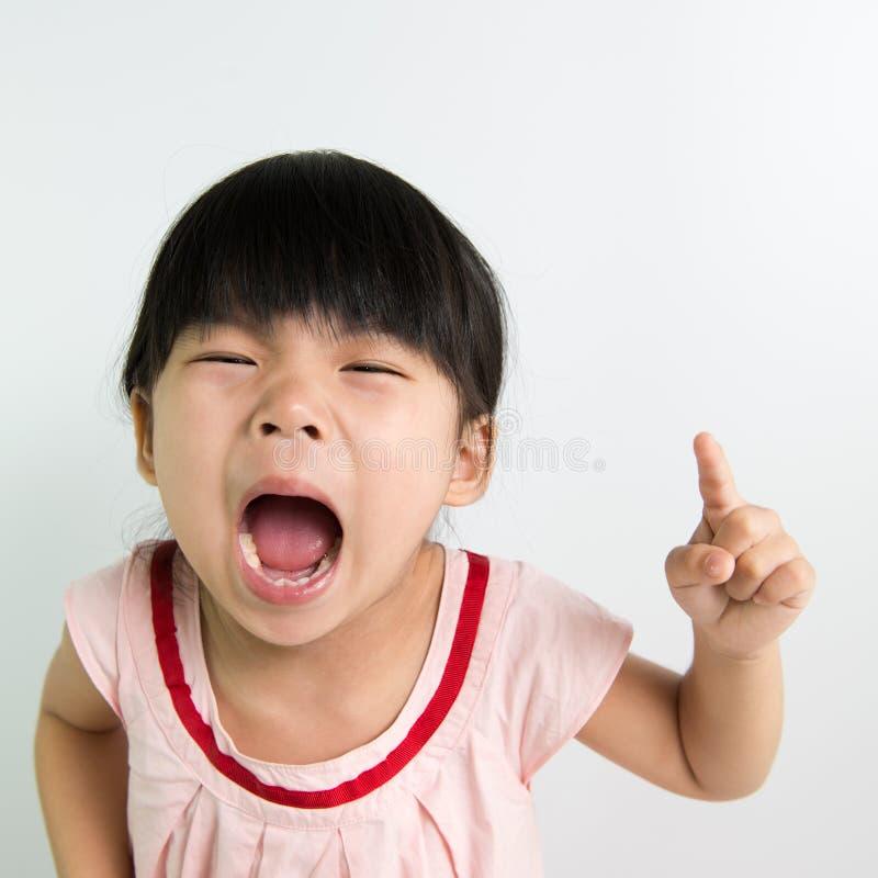 Девушка малыша стоковые фото