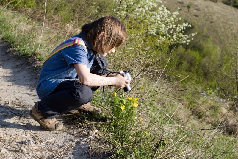 девушка меньшяя съемка стоковые фотографии rf