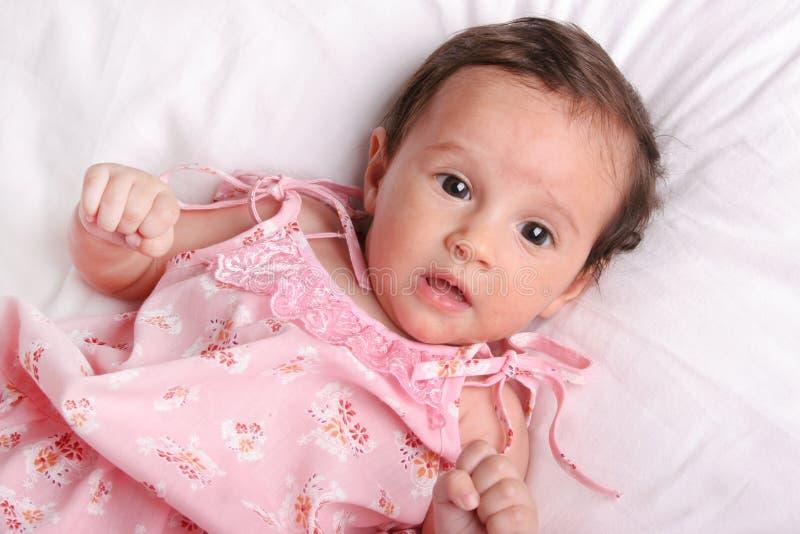 девушка младенца милая стоковая фотография rf