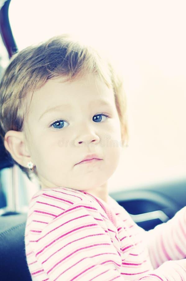 девушка младенца штилевая милая стоковое изображение