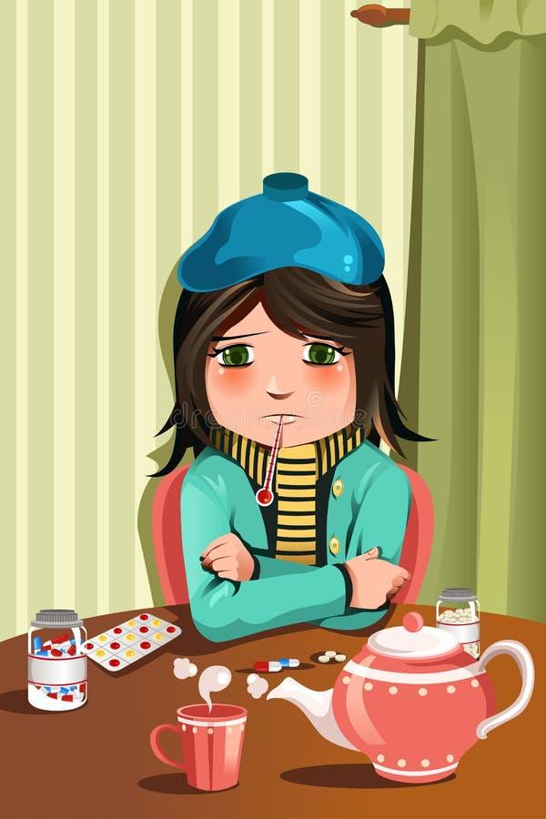 Больная девушка картинка прикольная, две открытки
