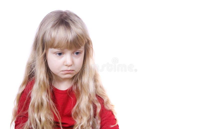девушка немногая унылое стоковые фото