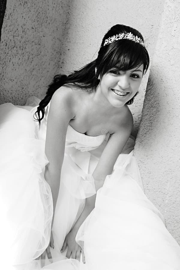 Девушка дня рождения Quinceanera стоковые фото
