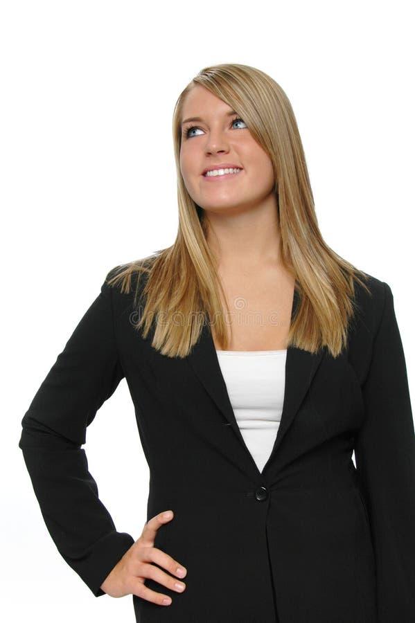 девушка одежды официально предназначенная для подростков стоковая фотография rf