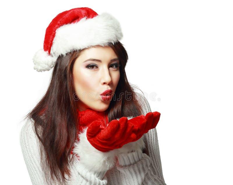 Девушка одетая как снег стоковое изображение rf