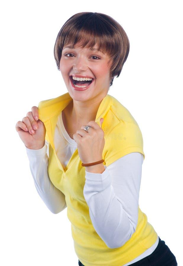 девушка предназначенная для подростков стоковое изображение