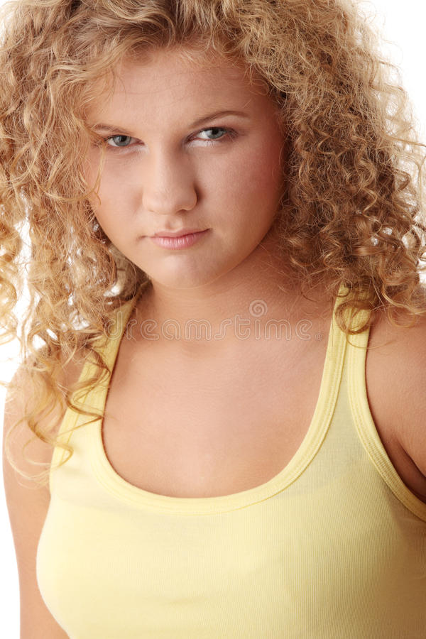девушка предназначенная для подростков стоковые изображения