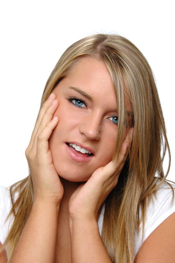 девушка предназначенная для подростков стоковые фото