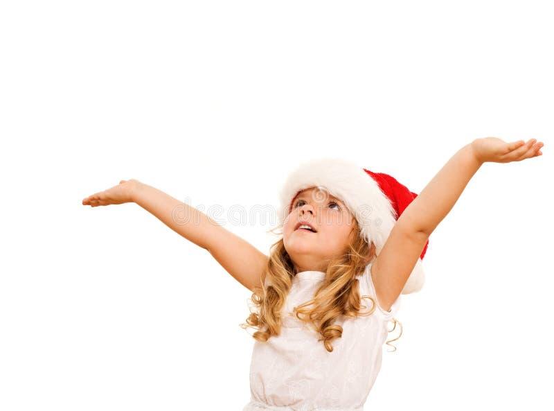 девушка рождества немногая стоковые изображения