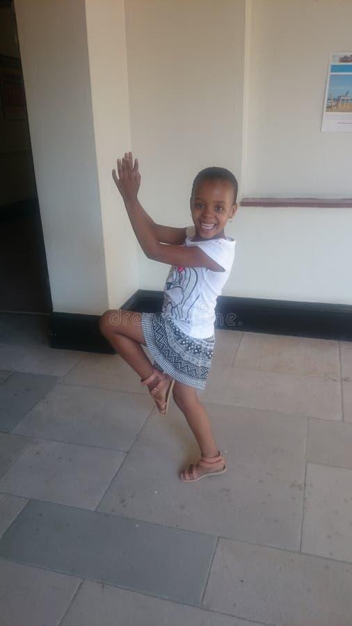 Девушка свободного духа счастливая стоковое изображение