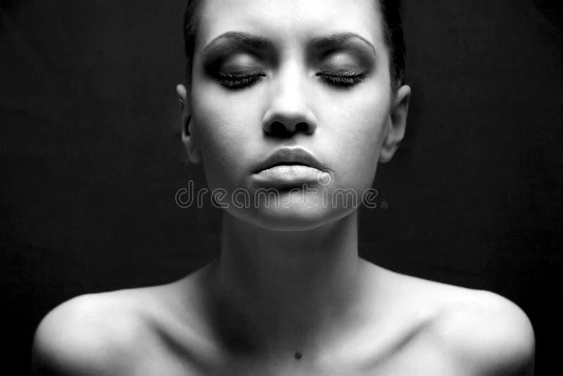 девушка способа сексуальная стоковые изображения rf