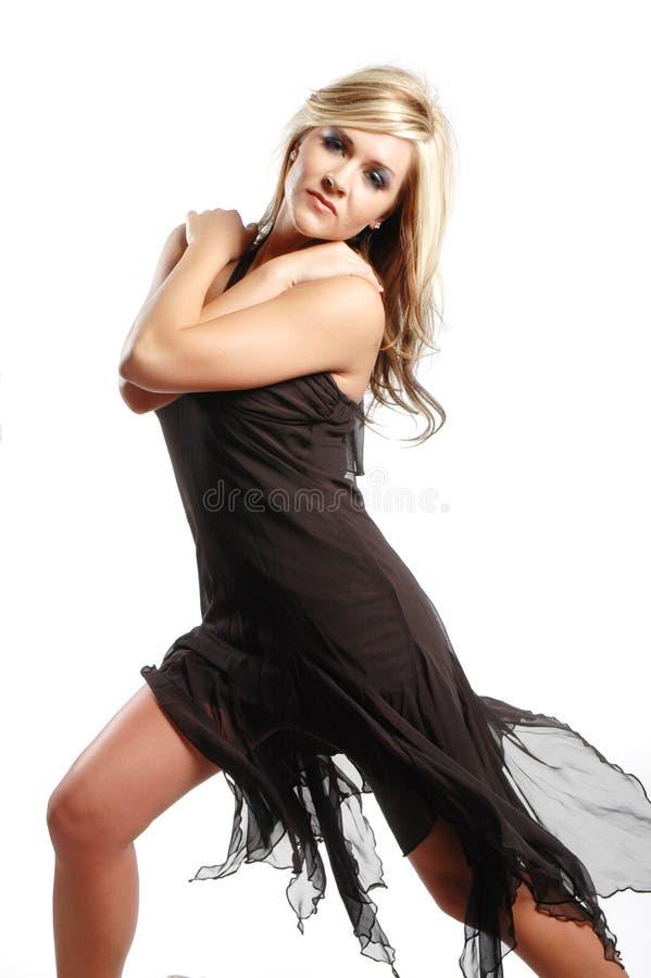 девушка способа сексуальная стоковое изображение rf