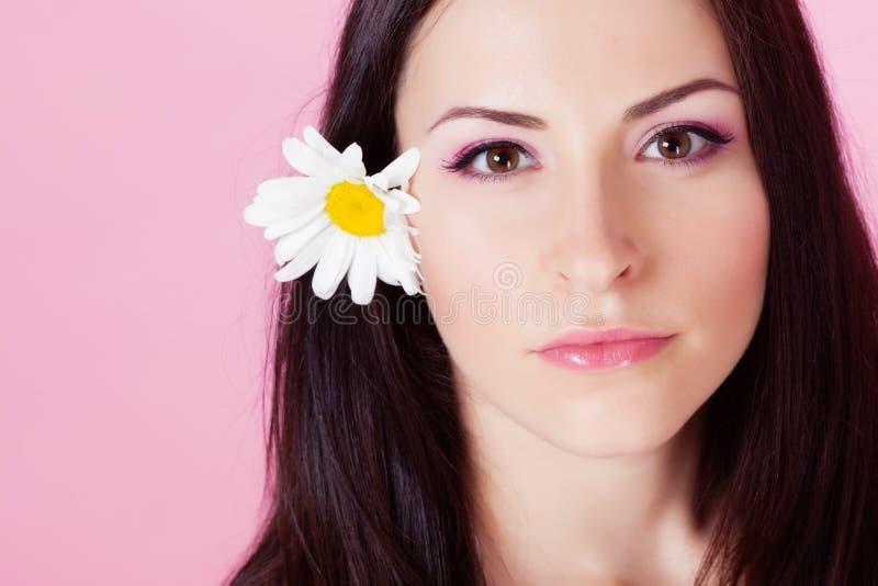 девушка стоцвета стоковая фотография