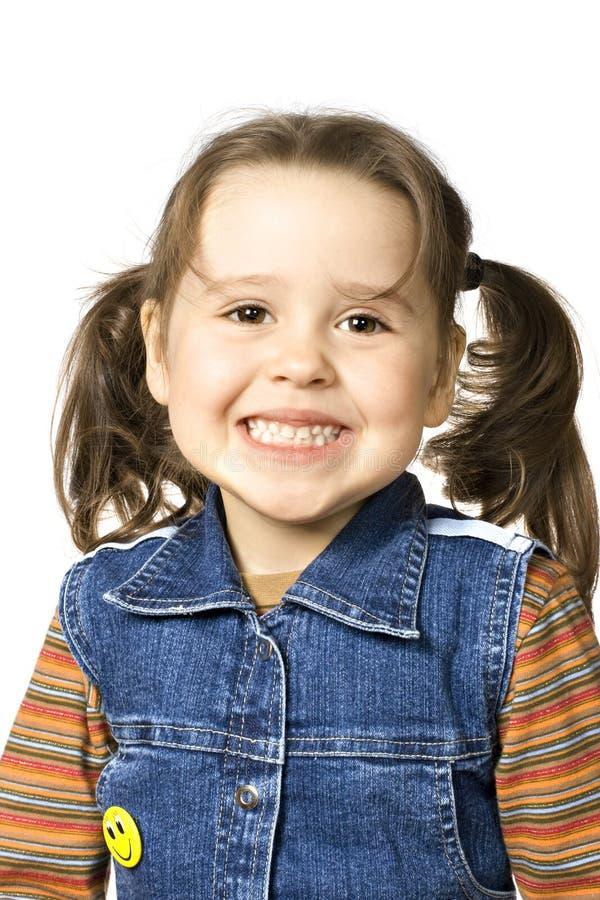 девушка счастливая немногая стоковая фотография rf