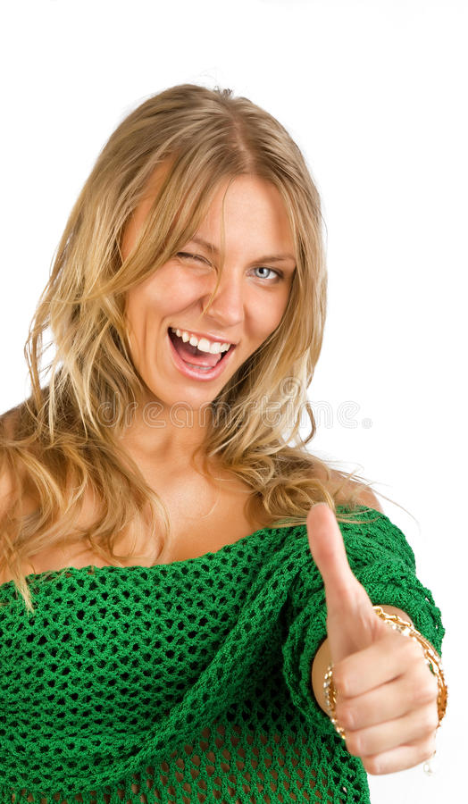 девушка счастливая очень стоковое фото rf