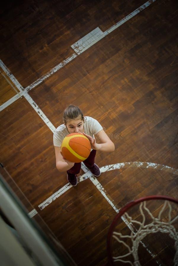 Девушка с шариком стоковое фото rf