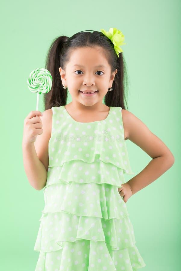 Девушка с sugarplum стоковое изображение