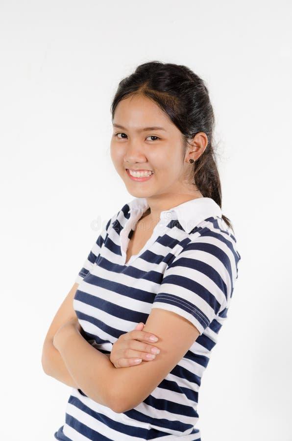 Девушка Таиланда предназначенная для подростков стоковое фото rf