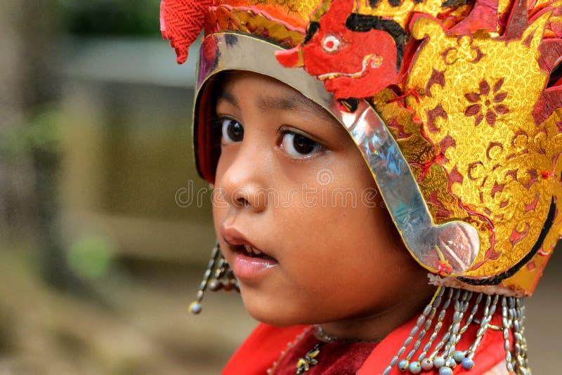 Девушка танцев от Бали стоковые изображения rf
