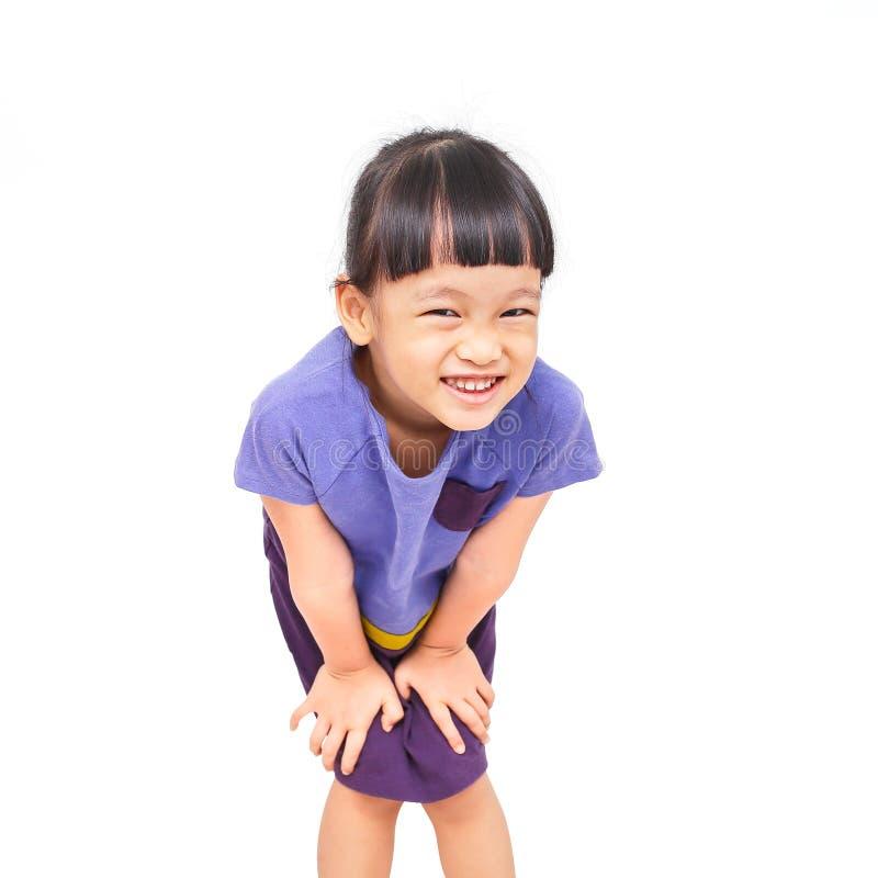 Девушка улыбки стоковая фотография rf