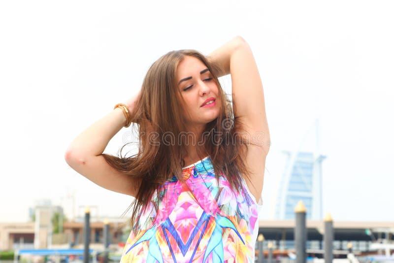 Девушка фантазера стоковые изображения rf
