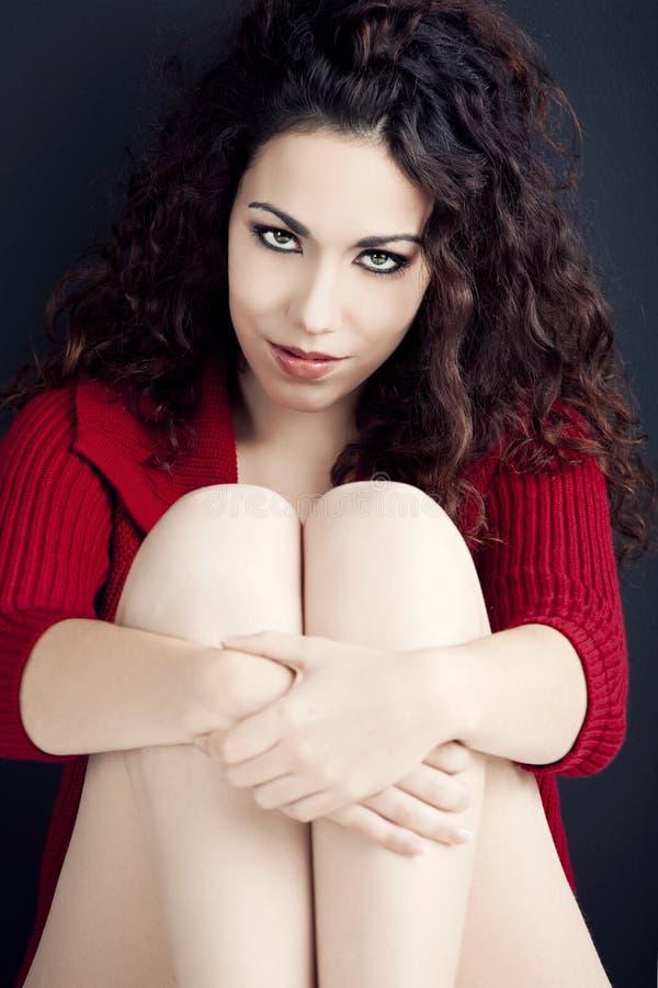 Девушка француза Beauitiful стоковая фотография