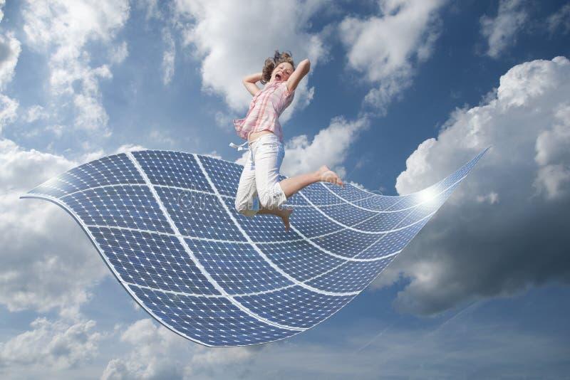 девушка энергии стоковая фотография