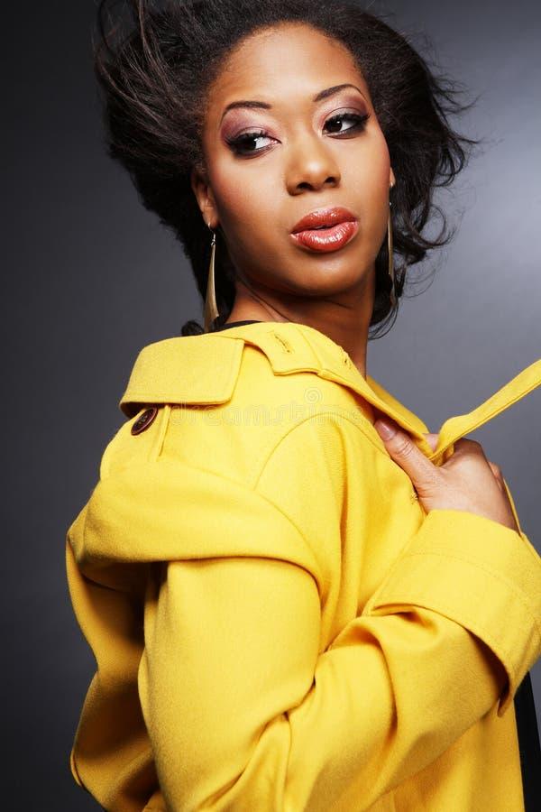 девушка 2 афроамериканцев красивейшая стоковые фото