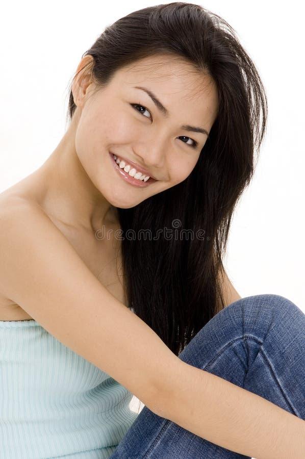девушка 7 китайцев стоковые фото