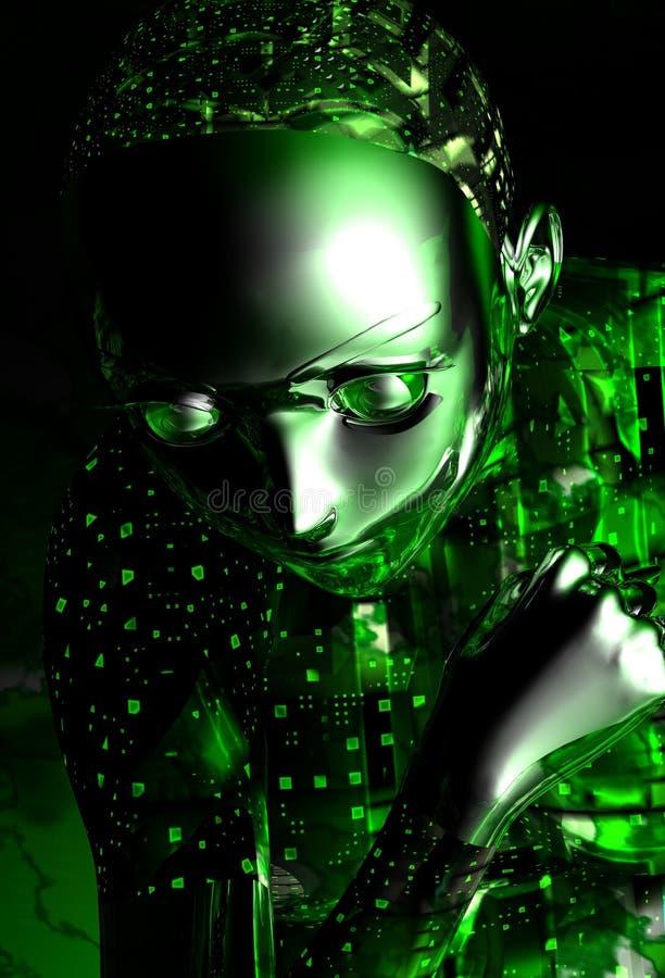 девушка android бесплатная иллюстрация